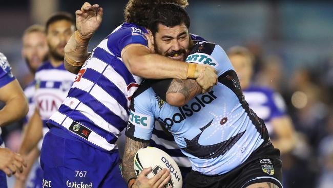 Andrew Fifita is available for games one and three. Picture: Brett Costello