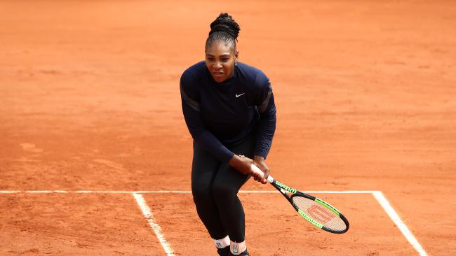 Barty cruising in Strasbourg Serena Williams has been shown a lack of respect by French Open officials.