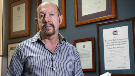 AMA Queensland's chair of general practice, Dr Richard Kidd. Picture: Chris Higgins