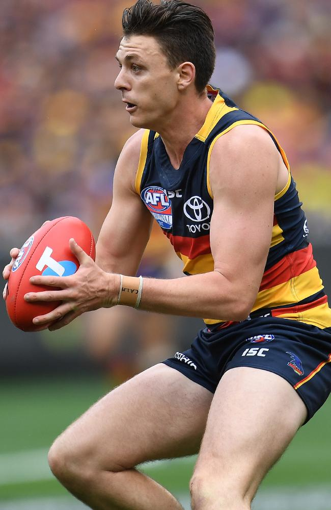 Former Crow Jake Lever was traded to Melbourne last season. Picture: Julian Smith (AAP).
