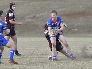Sam Lewis for USQ against UQ Gatton in Downs Rugby