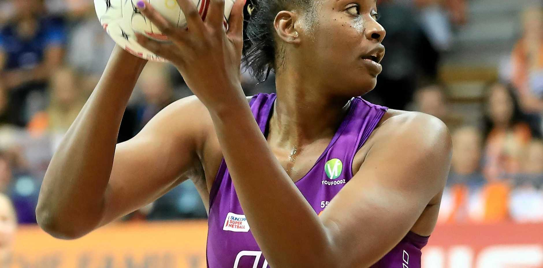 JAMAICAN STAR: Romelda Aiken of the Firebirds.