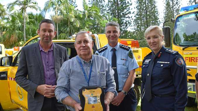 Hearty boost for Rural Fire Services with new defibrillators