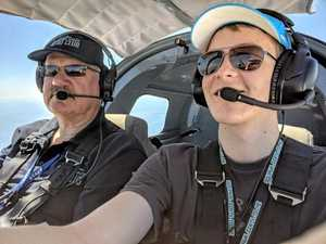 Liam aims to be youngest pilot to fly solo around Australia