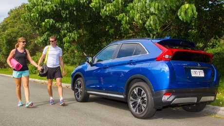 Smooth cruiser: Eclipse Cross isn't as sporty as the styling suggests