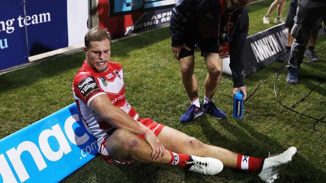 Jack de Belin's Origin hopes are in doubt following a late injury. Pic: Phil Hillyard