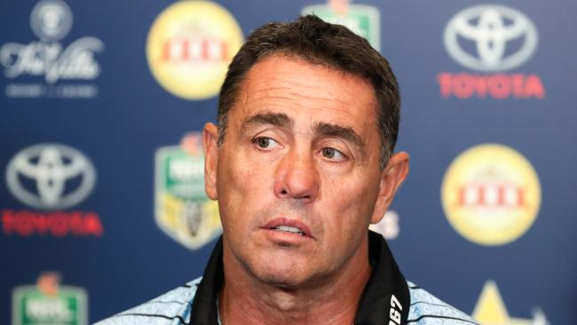Shane Flanagan was not impressed. (AAP Image/Michael Chambers)