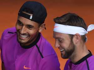 Kyrgios quiet on Tomic after doubles title success