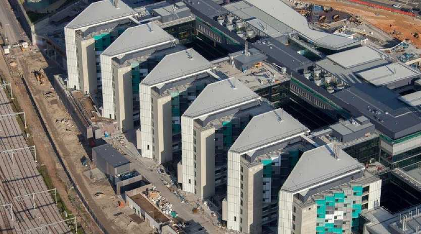 An aerial view of the new Royal Adelaide Hospital. Source: SA Health.