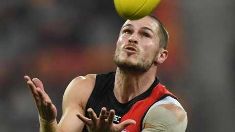David Zaharakis has 33 disposals in the big win over GWS.
