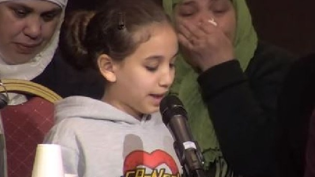 Girl's heartbreaking tribute to cousin killed in the Grenfell Tower inferno. Picture: Youtube/Grenfell Tower Inquiry