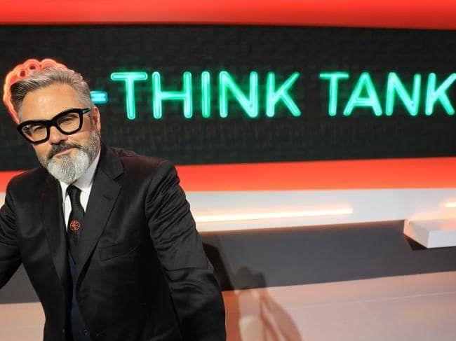 Paul McDermott hosts the ABC quiz show Think Tank.