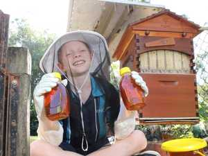 How this boy, 10, created a honey empire