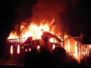Fire engulfs Glenreagh church