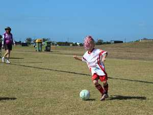 Under 7's Sarina Devils vs Wests United Sharks