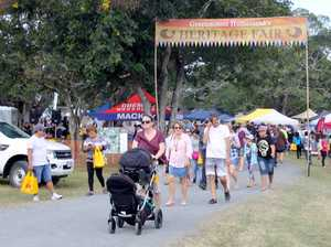 Organisers believe 7000 people or more came through