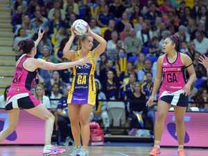 Sunshine Coast Lightning against the Adelaide