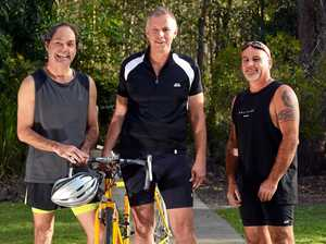 Sightless athletes train to take on Noosa Tri challenge