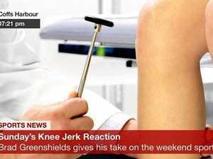 Sunday's knee jerk reaction: Coffs Coast weekend sport