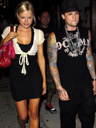 Monk and Benji Madden in LA.