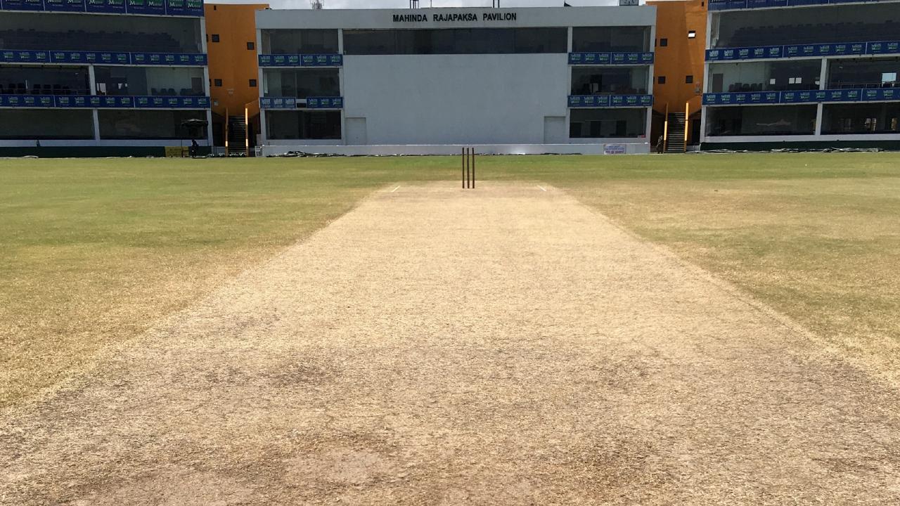 Galle cricket ground pitch doctoring in Sri Lanka.