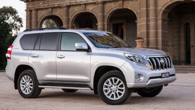 2013 Toyota Prado Kakadu: For town and country