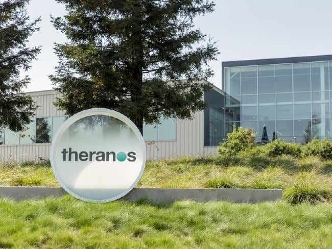 Theranos headquarters in Palo Alto, California. The company attracted more than $600 million from investors. Picture: Getty
