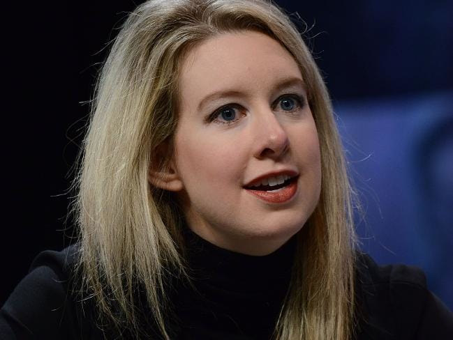 Theranos founder and CEO Elizabeth Holmes has now been charged by the Securities and Exchange Commission with 'massive fraud'. Picture: Lisa Lake/Getty Images