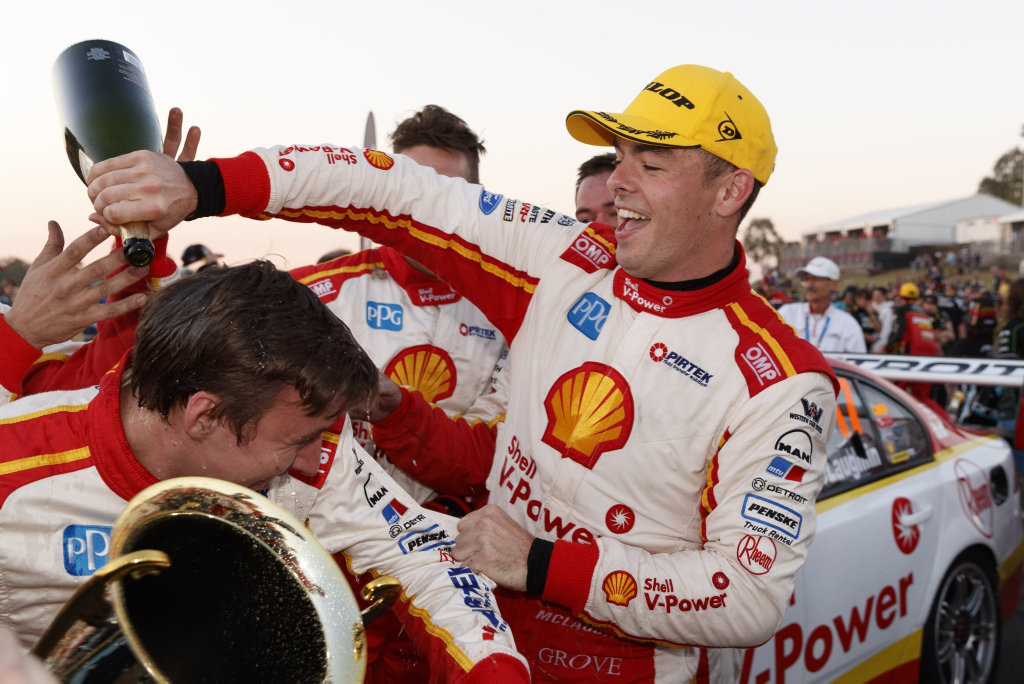 COMING TO TOWN: Scott McLaughlin of DJR Team Penske will attend a Dunga Derby fundraising event at the Beach House Hotel on June 29.