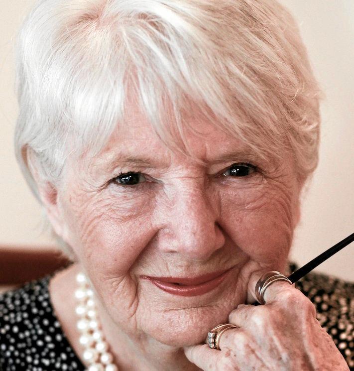 Author Mary Atkins.