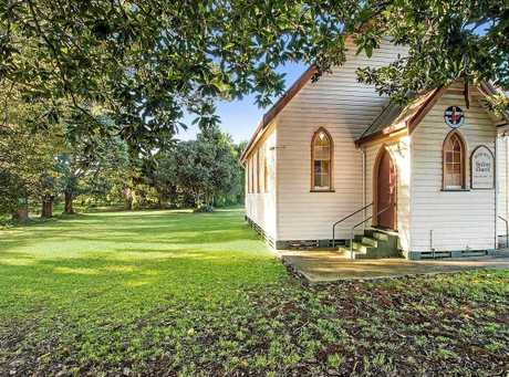 Vintage church in rural setting at Rous Mill will go to auction on June 23.
