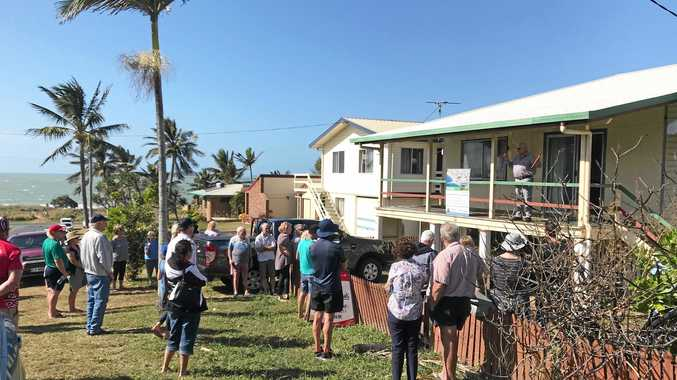LOCAL BUYER: There were 14 registered bidders who fought it out for the house, all of which were locals except one, who hailed from Mt Isa and was the loosing bidder.