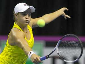 Barty says she's fit after back injury
