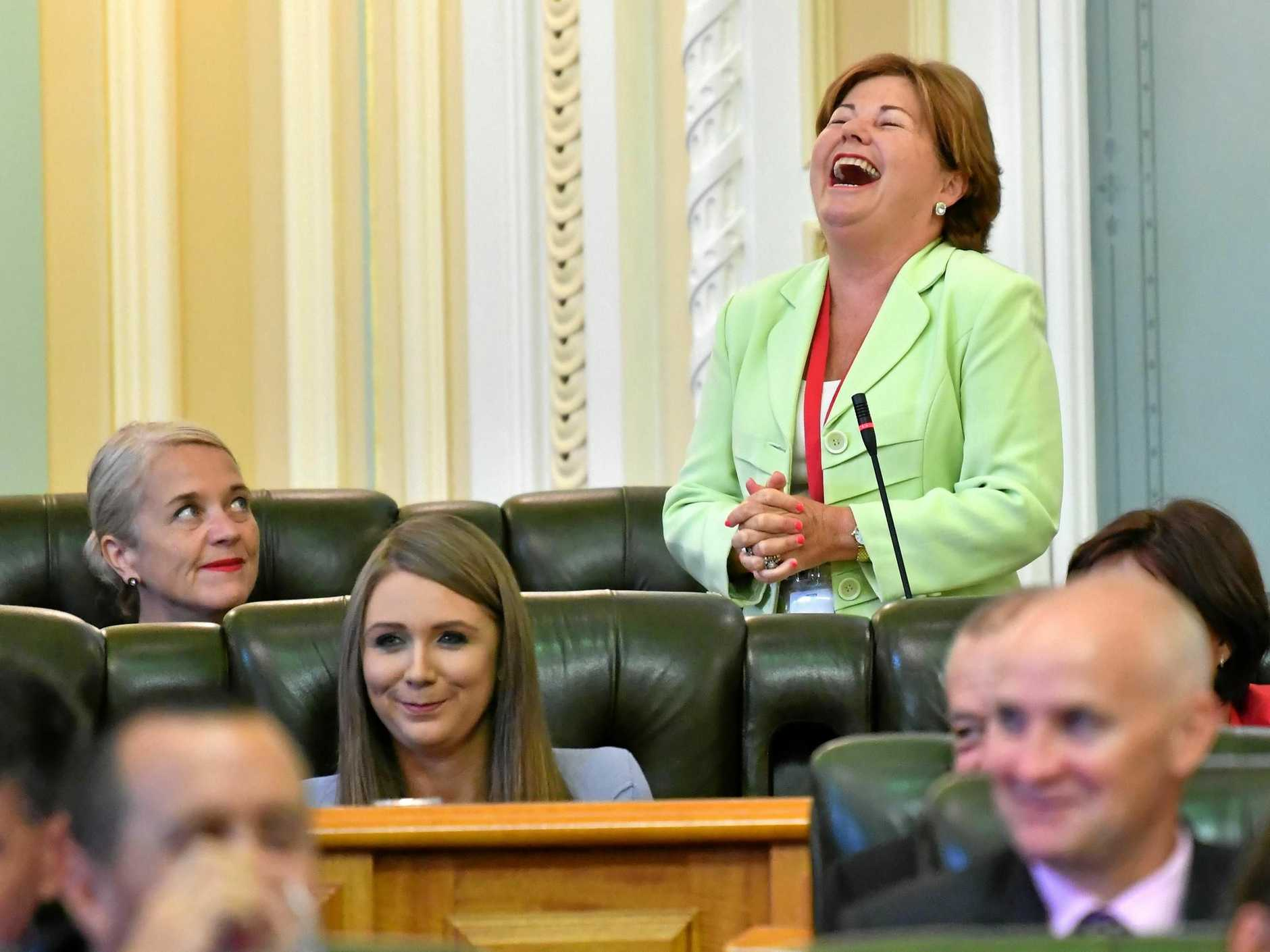 Labor Member for Bundamba Jo-Ann Miller is one of three MPs accused of not working together for Ipswich.