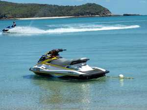 Missing jet ski washes up hours later on Yeppoon beach