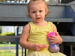 'I WAS SO SCARED': Toddler swallows dummy