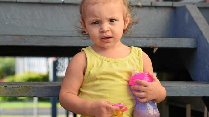 CLOSE CALL: Aurora Willett, 18 months, is thought to have accidentally swallowed her dummy in her sleep.