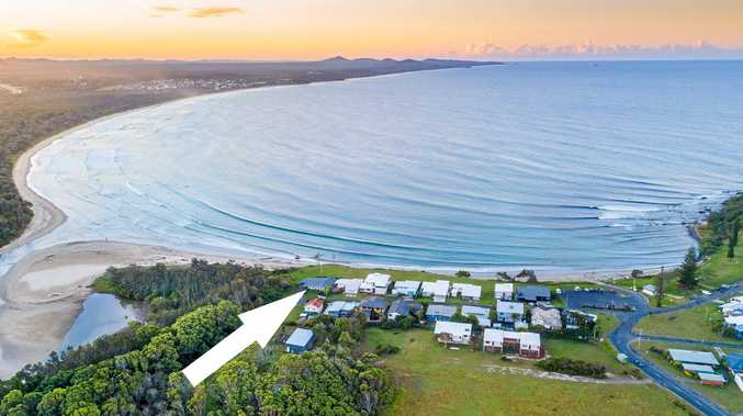 RECORD PRICE: 16 First Ave Arrawarra Headland sold for $1.625 million.