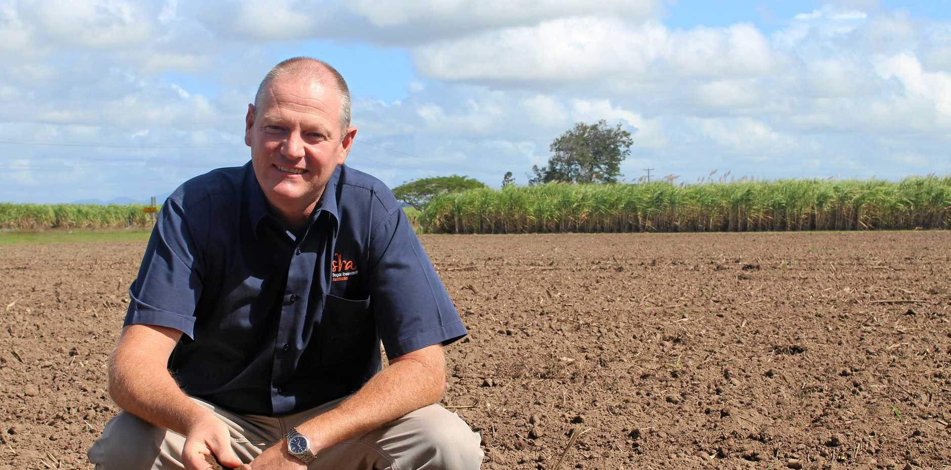 Dr Barry Salter is starting a research project on enriching soil with a variety of crops.