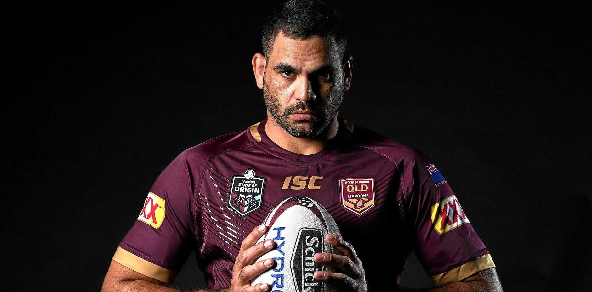 TEAM NAMED: Greg Inglis will captain Queensland in game one of this year's State of Origin series.