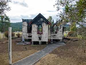 Community gutted: Act of arson claims historic church