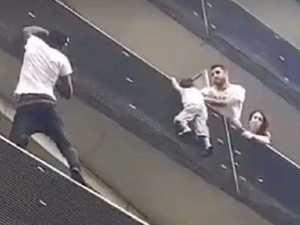 Quick climb makes migrant hero