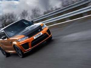 Range Rover Sport SVR is fast on track and slick in mud