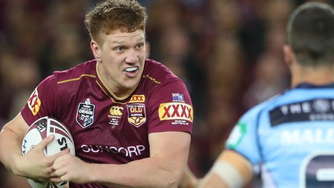 Queensland need their big men stoked up. (Peter Wallis)