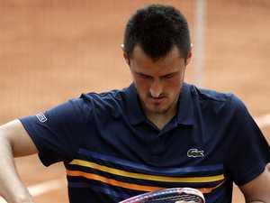 Miserable Tomic sulks post-match