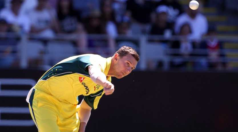 Josh Hazlewood has been ruled out of the Australian squad to tour England.