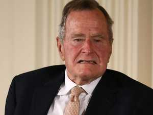 George Bush Sr taken to hospital
