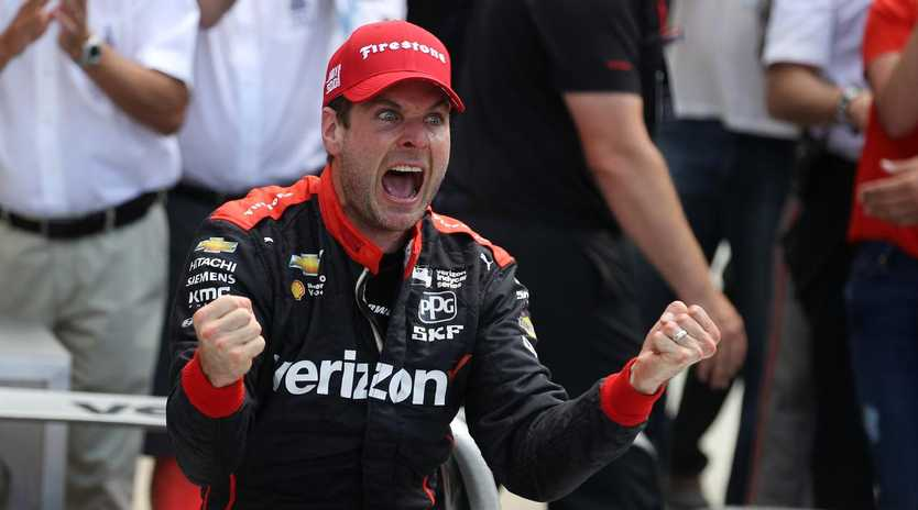 Will Power has become the first Australian to win the Indianapolis 500.