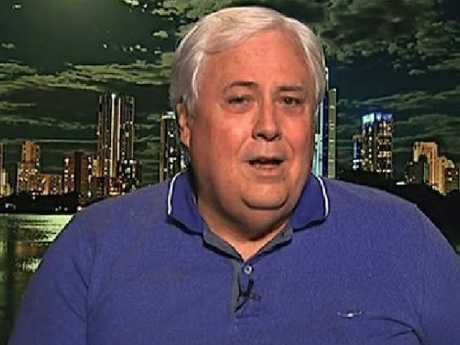 Clive Palmer has defended his actions over Queensland Nickel.