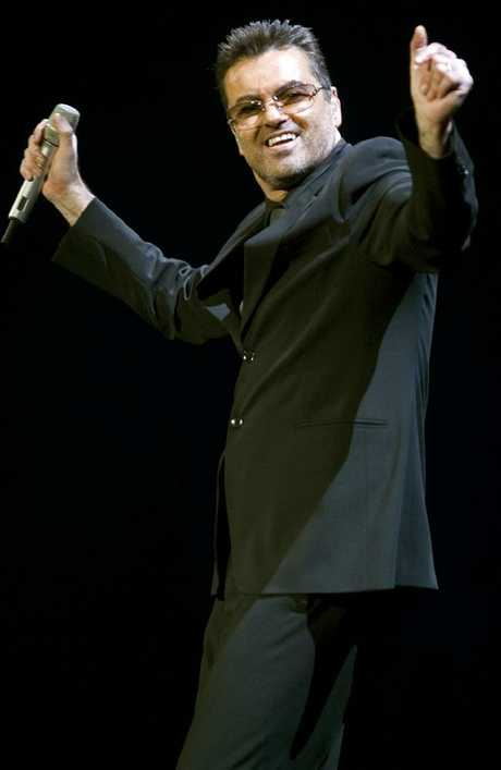 British singer George Michael's will is in dispute. Picture: AFP